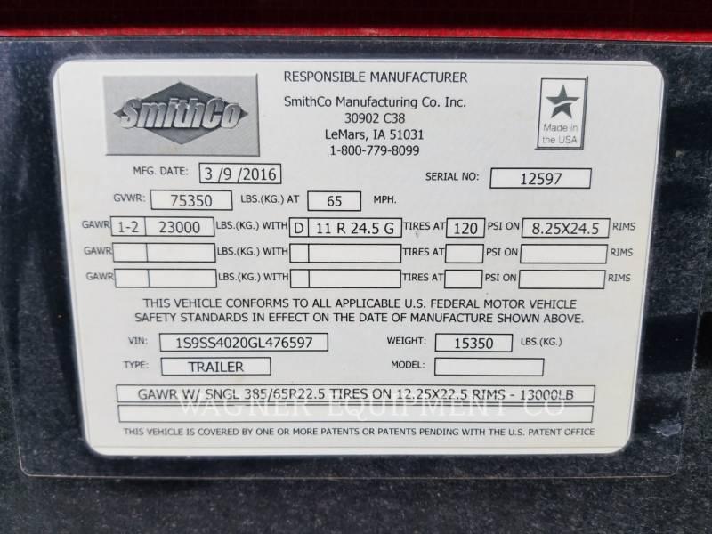 SMITHCO TRAILERS SX2-4034 equipment  photo 5