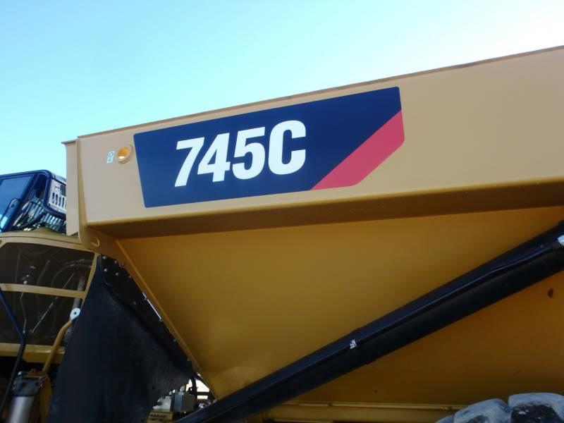 CATERPILLAR ARTICULATED TRUCKS 745C equipment  photo 22