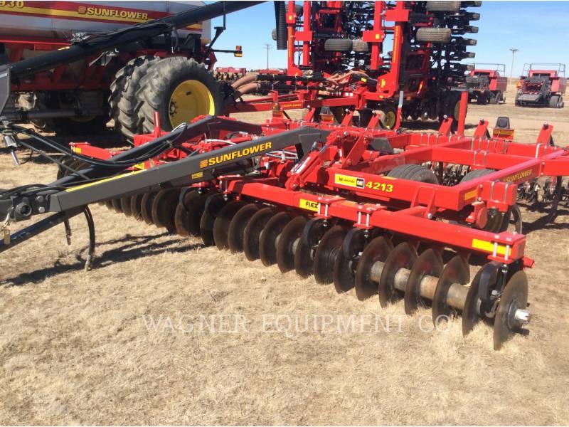 SUNFLOWER MFG. COMPANY 農業用耕作機器 SF4213-15 equipment  photo 1