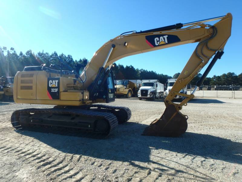 Caterpillar EXCAVATOARE PE ŞENILE 323FL equipment  photo 4