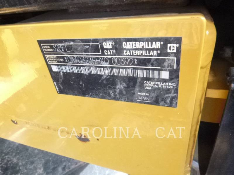 CATERPILLAR KETTEN-HYDRAULIKBAGGER 323FL QC equipment  photo 8