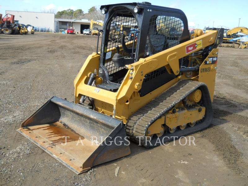CATERPILLAR KOMPAKTLADER 249D equipment  photo 1