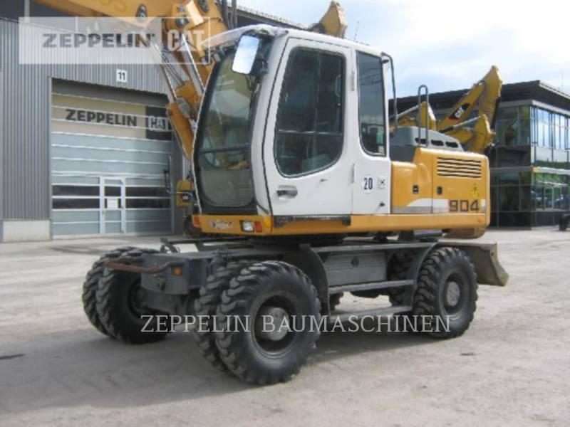 LIEBHERR EXCAVADORAS DE RUEDAS A904CLIT equipment  photo 3