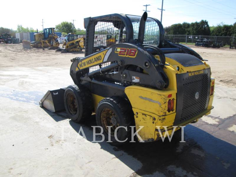NEW HOLLAND LTD. SKID STEER LOADERS L218 equipment  photo 3
