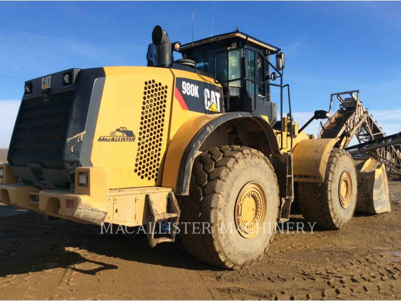CATERPILLAR CARGADORES DE RUEDAS 980K equipment  photo 1