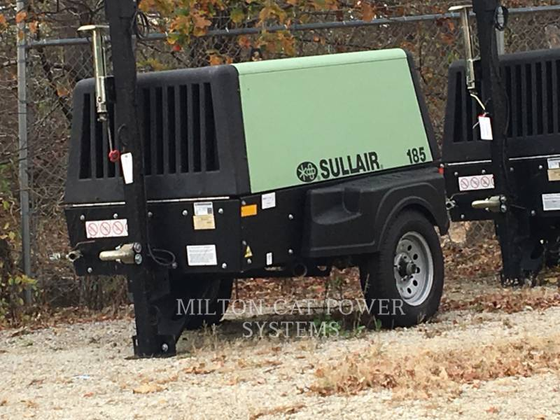 SULLAIR AIR COMPRESSOR 185 CFM equipment  photo 1