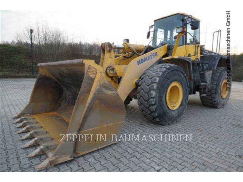 KOMATSU LTD. WHEEL LOADERS/INTEGRATED TOOLCARRIERS WA480-5 equipment  photo 1