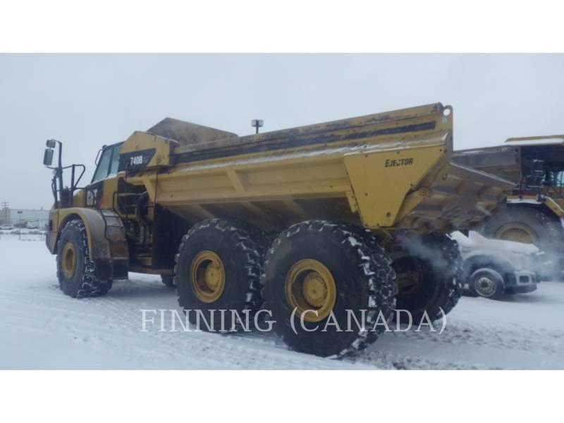 CATERPILLAR ARTICULATED TRUCKS 740B EJ equipment  photo 4
