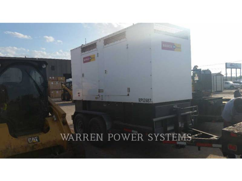 NORAM PORTABLE GENERATOR SETS N150 equipment  photo 3