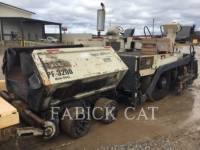 INGERSOLL-RAND ASPHALT PAVERS PF3200 equipment  photo 4