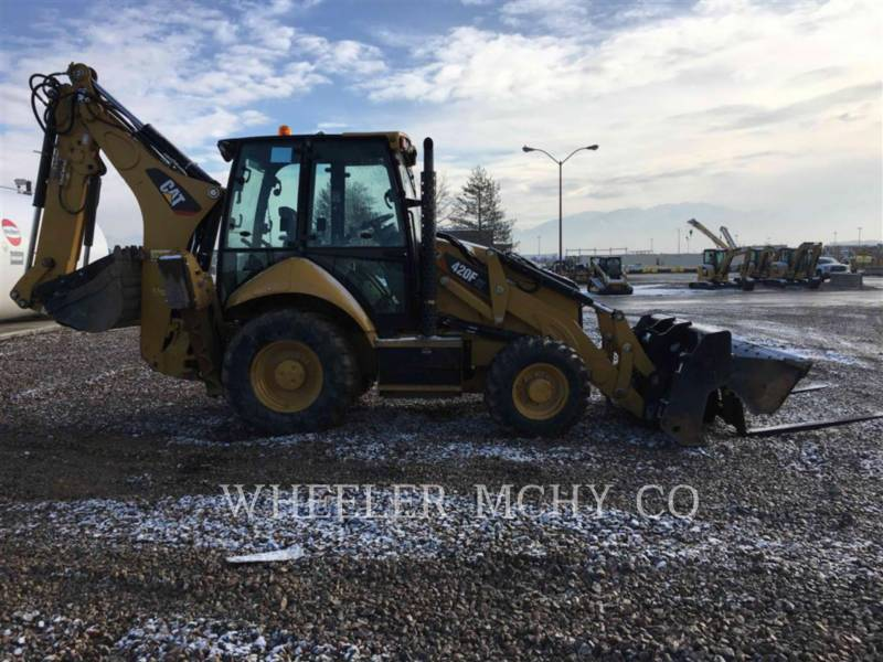 CATERPILLAR BACKHOE LOADERS 420F ITETH equipment  photo 4