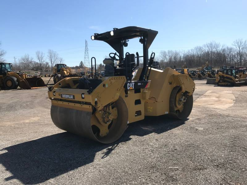 CATERPILLAR VIBRATORY DOUBLE DRUM ASPHALT CB54 equipment  photo 1