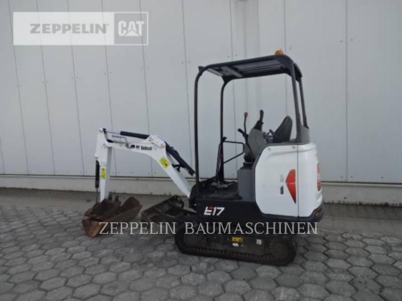 BOBCAT KETTEN-HYDRAULIKBAGGER E17 equipment  photo 4