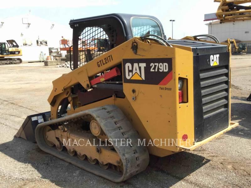 Caterpillar ÎNCĂRCĂTOARE PENTRU TEREN ACCIDENTAT 279D equipment  photo 3