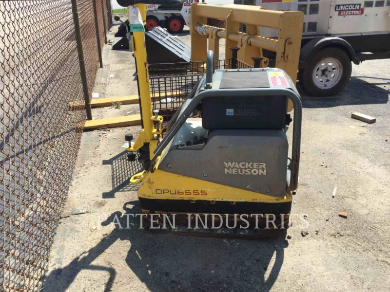 WACKER CORPORATION COMPACTORS DPU6555HE equipment  photo 3