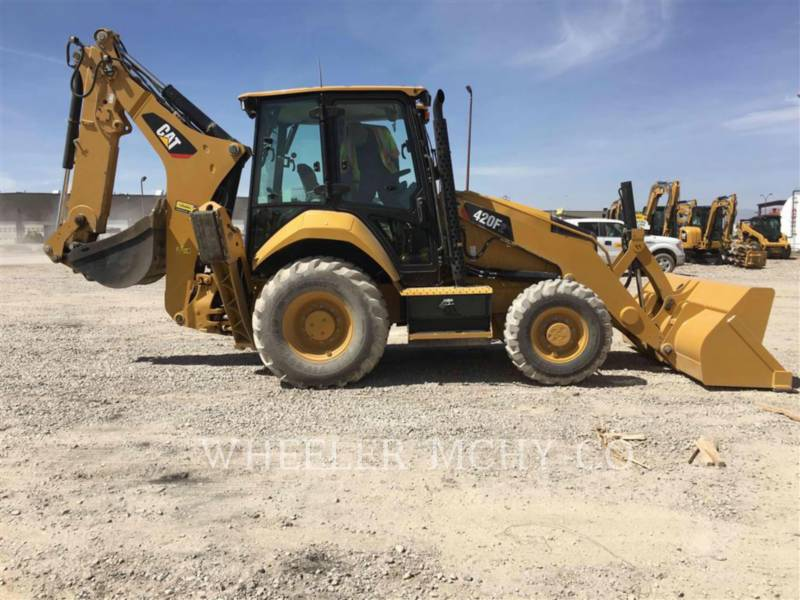 CATERPILLAR CHARGEUSES-PELLETEUSES 420F2 E equipment  photo 7