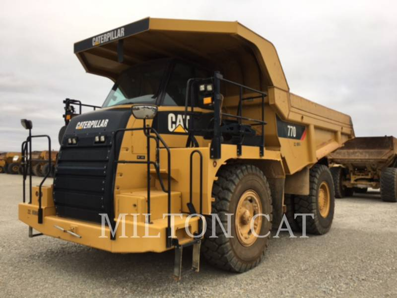 Caterpillar CAMIOANE PENTRU TEREN DIFICIL 770 equipment  photo 1