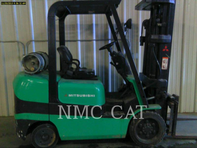 MITSUBISHI FORKLIFTS GABELSTAPLER FGC30K equipment  photo 1