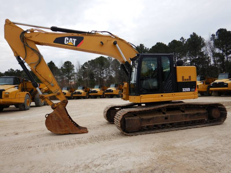 CATERPILLAR TRACK EXCAVATORS 328DLCR equipment  photo 4