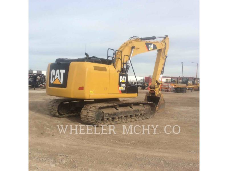 CATERPILLAR KETTEN-HYDRAULIKBAGGER 320E L equipment  photo 5