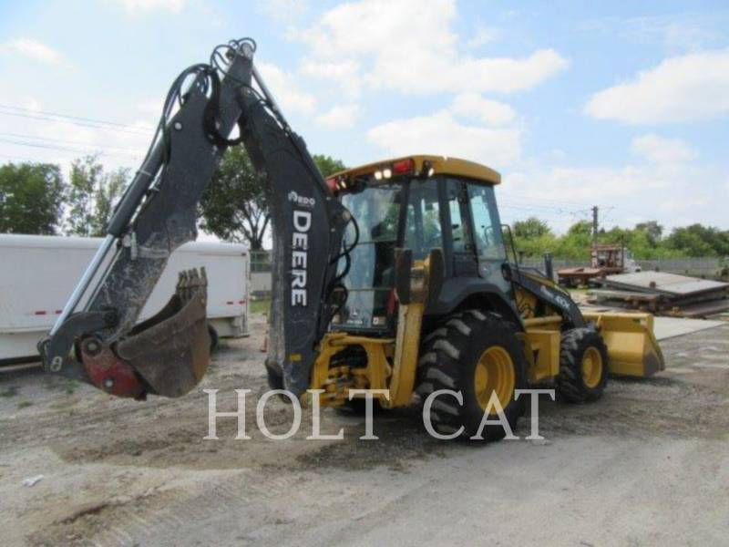 DEERE & CO. BACKHOE LOADERS 410K equipment  photo 3