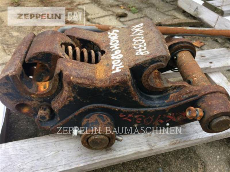 CATERPILLAR AG - HECKBAGGER-ARBEITSGERÄT SW mechanisch CAT equipment  photo 2