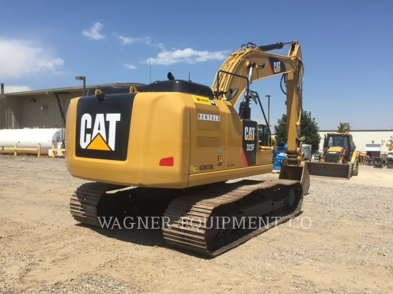 CATERPILLAR TRACK EXCAVATORS 323FL TC equipment  photo 3