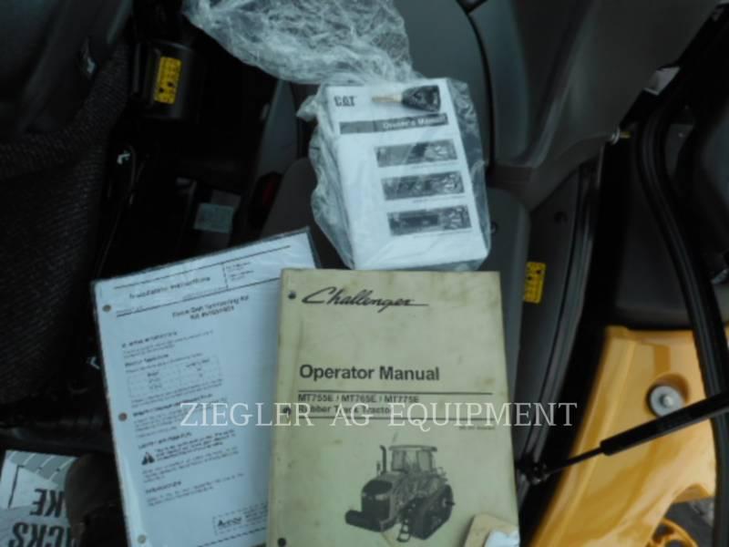 AGCO-CHALLENGER AG TRACTORS MT775E equipment  photo 15