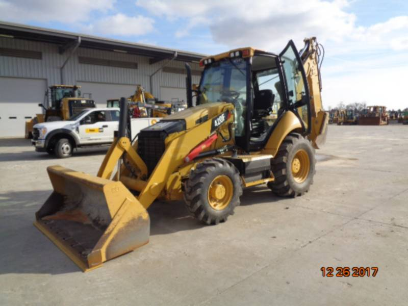 CATERPILLAR BAGGERLADER 420FST equipment  photo 22