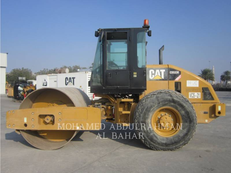 CATERPILLAR VIBRATORY SINGLE DRUM SMOOTH CS 533 E equipment  photo 2