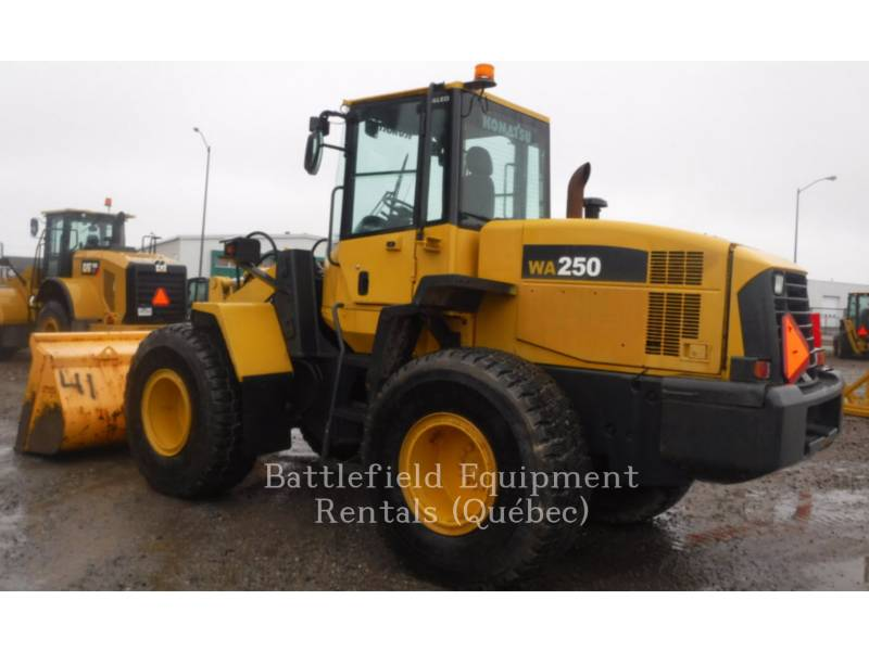 KOMATSU CARGADORES DE RUEDAS WA250 equipment  photo 3
