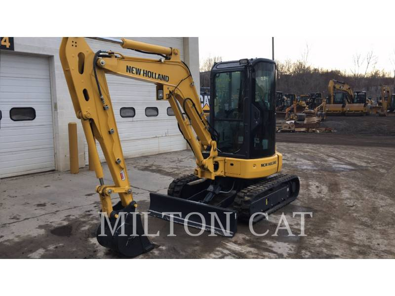 NEW HOLLAND LTD. PELLES SUR CHAINES E35B equipment  photo 1