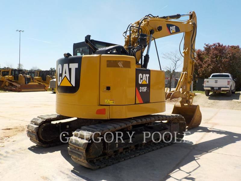 CATERPILLAR TRACK EXCAVATORS 315FLCR equipment  photo 10