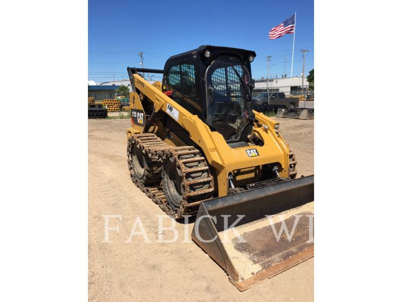 CATERPILLAR CHARGEURS COMPACTS RIGIDES 272D1 equipment  photo 2