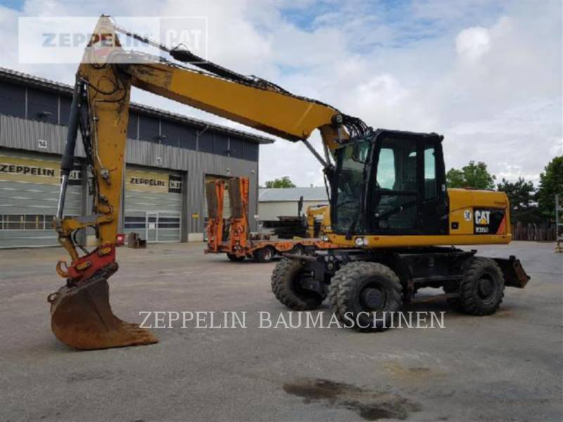 CATERPILLAR ESCAVATORI GOMMATI M315D equipment  photo 2