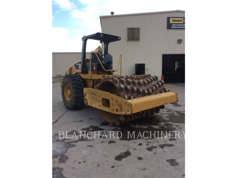 CATERPILLAR COMPACTEUR VIBRANT, MONOCYLINDRE À PIEDS DAMEURS CP56 equipment  photo 3