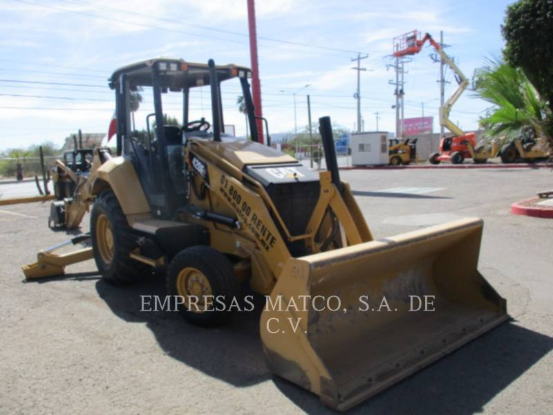 CATERPILLAR BAGGERLADER 420F2STLRC equipment  photo 1