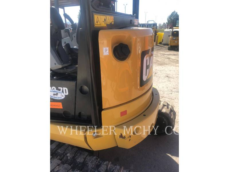 CATERPILLAR TRACK EXCAVATORS 302.7DC1TH equipment  photo 11