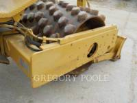 CATERPILLAR VIBRATORY SINGLE DRUM PAD CP-433C equipment  photo 18