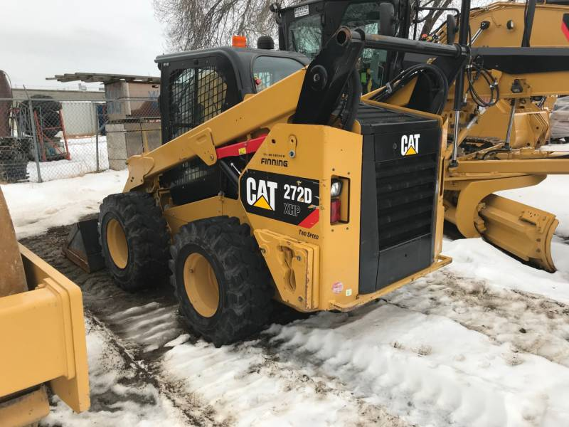 CATERPILLAR SKID STEER LOADERS 272DXHP equipment  photo 2
