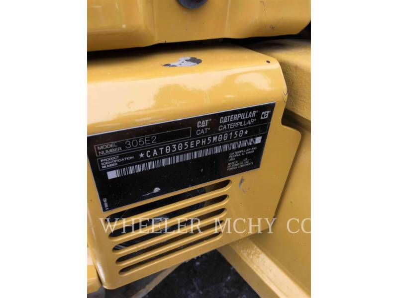 CATERPILLAR TRACK EXCAVATORS 305E2 C1 equipment  photo 7