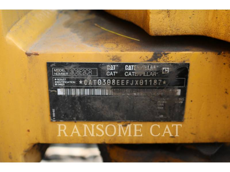 CATERPILLAR TRACK EXCAVATORS 308E2CRSB equipment  photo 18