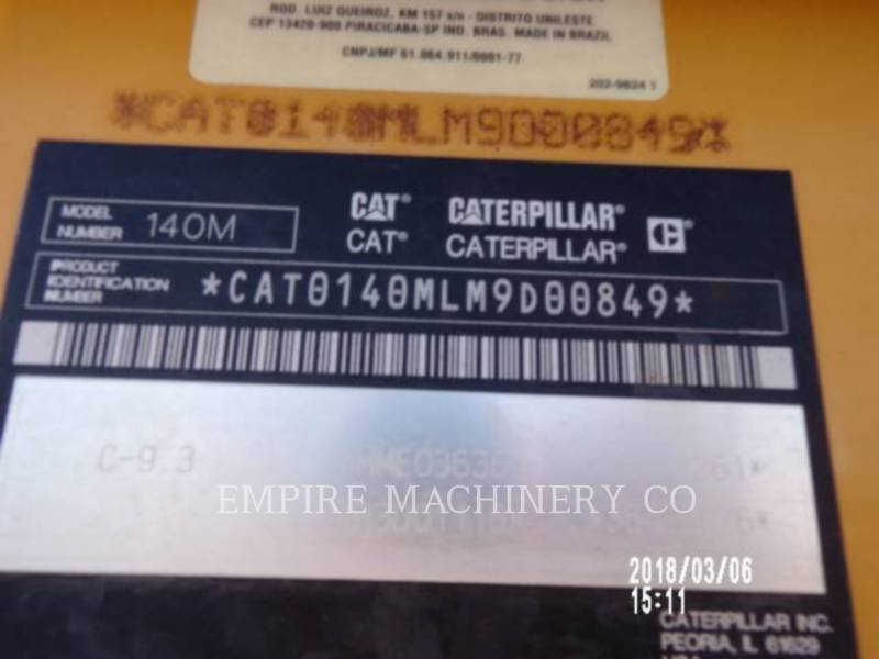 CATERPILLAR RÓWNIARKI SAMOBIEŻNE 140M2 equipment  photo 2