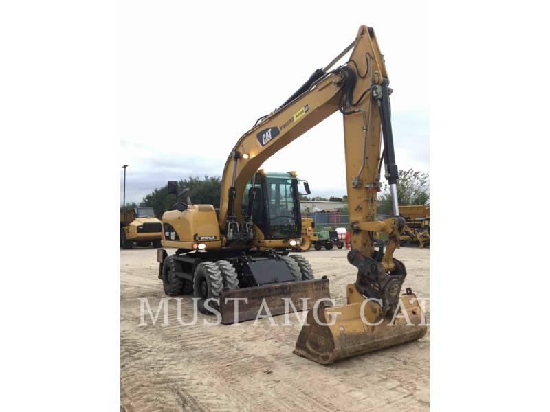 Caterpillar EXCAVATOARE PE ROŢI M315D equipment  photo 2