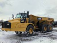 CATERPILLAR ARTICULATED TRUCKS 740B T equipment  photo 1