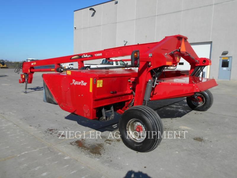 AGCO-CHALLENGER AGRARISCHE HOOI-UITRUSTING CH1386 equipment  photo 1