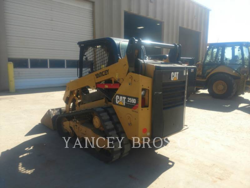 CATERPILLAR SKID STEER LOADERS 259D OROPS equipment  photo 5