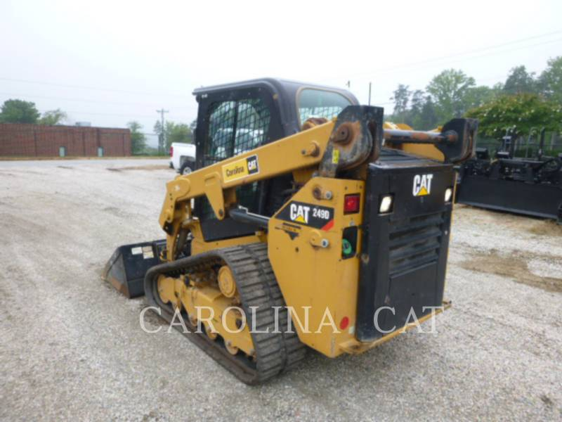 CATERPILLAR CARGADORES DE CADENAS 249D equipment  photo 2
