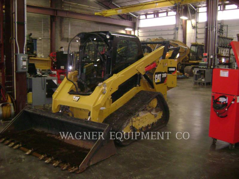CATERPILLAR SKID STEER LOADERS 289D equipment  photo 1