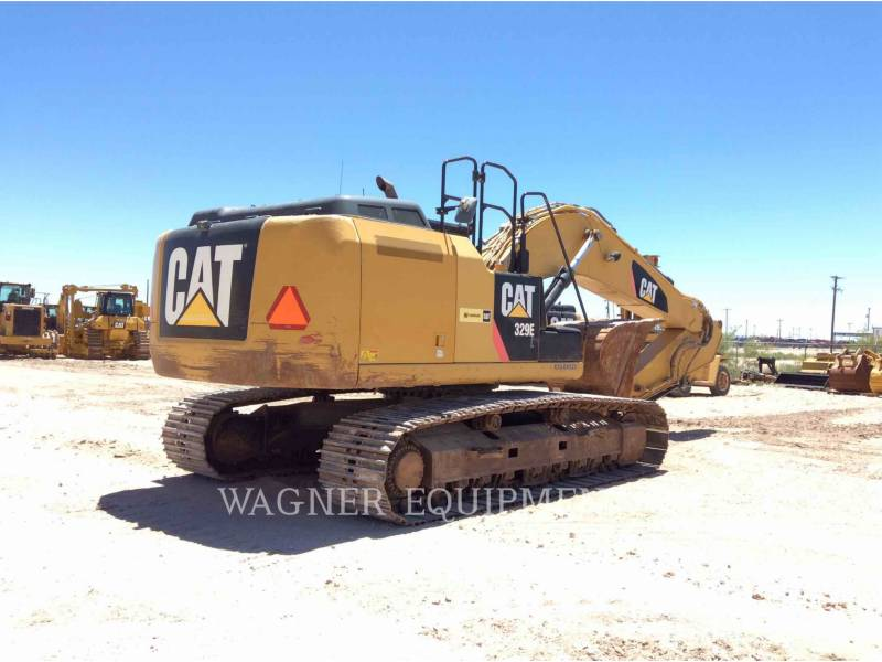 CATERPILLAR TRACK EXCAVATORS 329EL TC equipment  photo 3